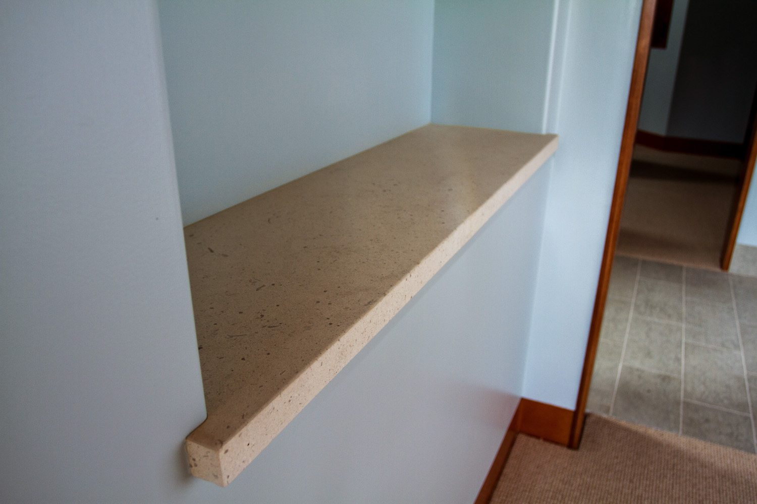 "1-1/2"" Miter on Caesarstone (Color Discontinued)"