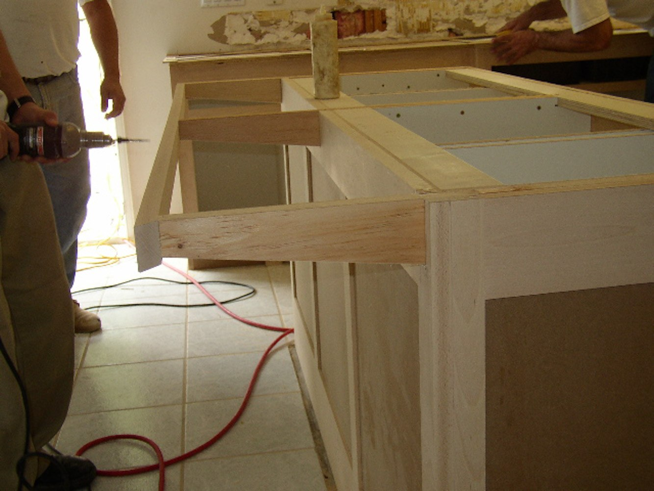 Integrated Wood Supports By Cabinet Maker