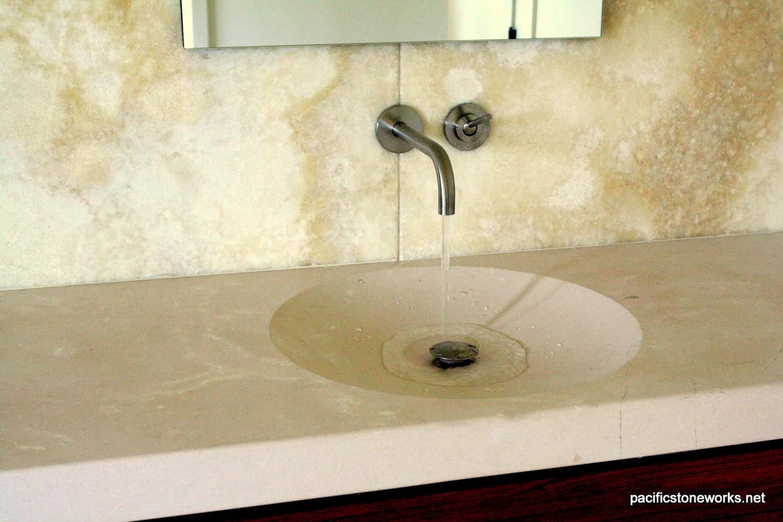 PSW Designed/Fabricated Custom Vanity & Sink